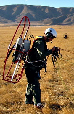 Training Powered Paragliding