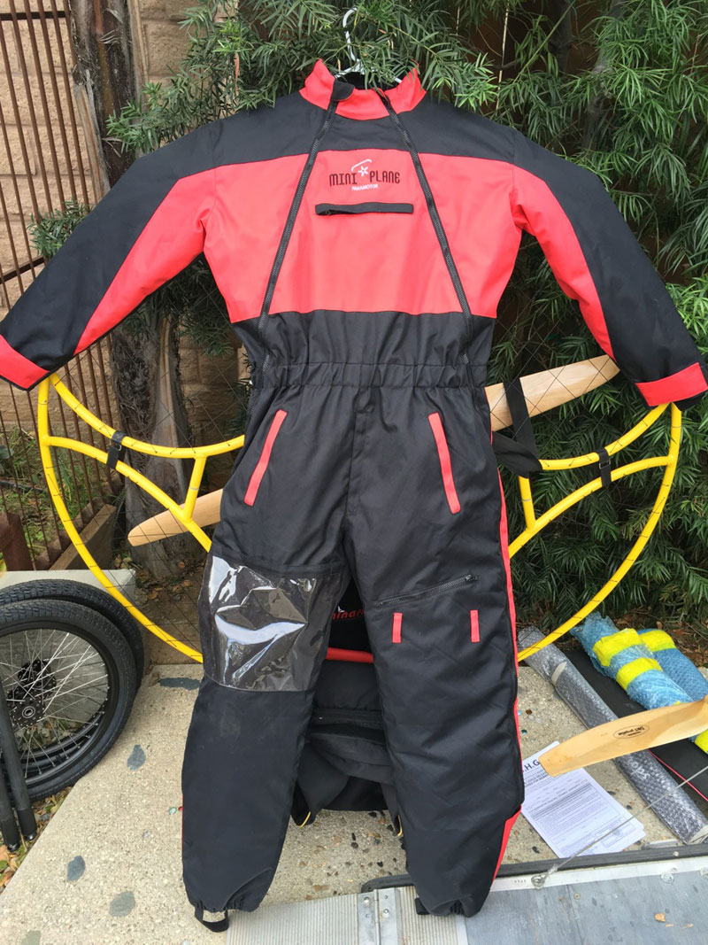 Miniplane Paramotor Winter Flight Suit
