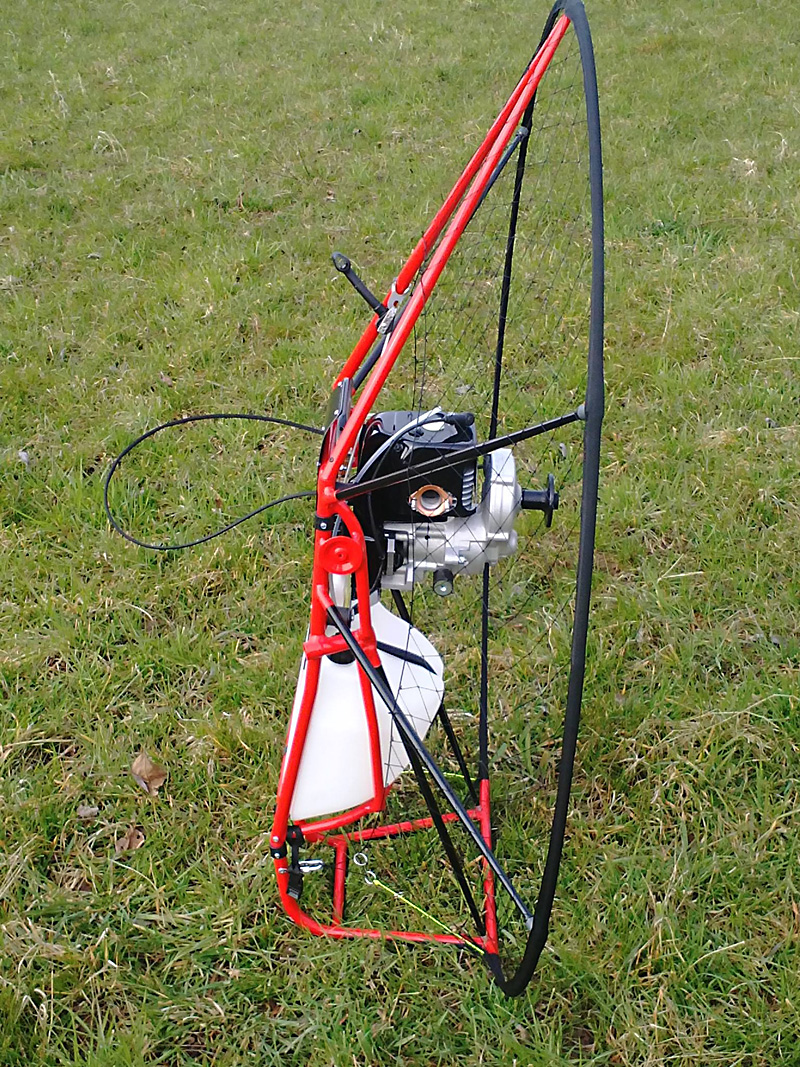 Paramotor and Powered Paraglider Tandem Bar